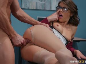 Adriana chechik footjob