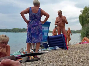 Older male nudist