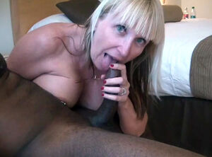 Blonde milf shower
